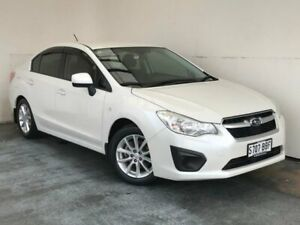 2013 Subaru Impreza G4 MY14 2.0i Lineartronic AWD White 6 Speed Constant Variable Sedan Mount Gambier Grant Area Preview