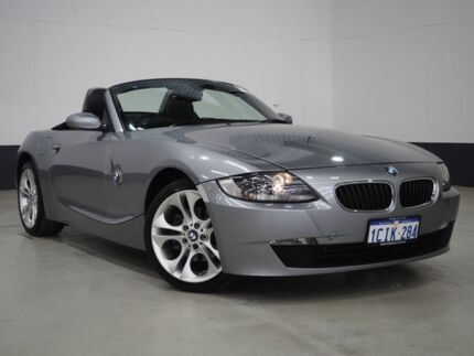 2006 BMW Z4 E85 MY06 2.5SI Grey 6 Speed Steptronic Roadster Bentley Canning Area Preview