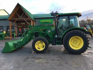 2013 JOHN DEERE 5100M with  CAB AND LOADER