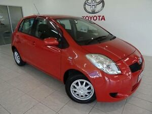 2006 Toyota Yaris NCP90R YR Orange 4 Speed Automatic Hatchback Westcourt Cairns City Preview