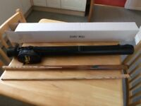 "Viper Two Piece ""Pot Black"" Snooker Cue with Hard Case"