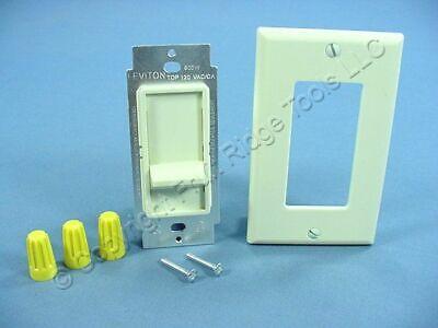 DIB Almond Decorator Single Pole Slide Dimmer Switch 600W Incandescent 557714 Slide Almond Dimmer