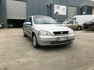2000 Holden Astra TS CD Silver 4 Speed Automatic Hatchback