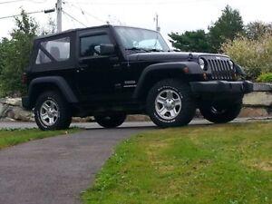 2012 Jeep Wrangler Sport 4X4 *5 New All terrain tires*