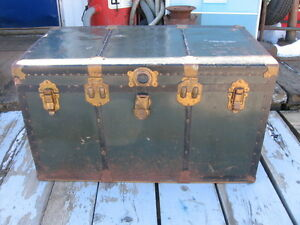 Large Vintage Storage Trunk