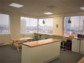 SE1. Office Space with Awesome views right next to Waterloo Station. 5-10 Desks. Self contained