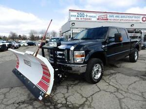 2009 Ford Super Duty F-250 XLT,4X4,WITH PLOW & SALTER CERTIFIED