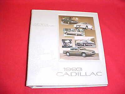 1993 CADILLAC PRESS KIT MEDIA INFO DEVILLE ALLANTE DEALER ALBUM PHOTOS SLIDES 93