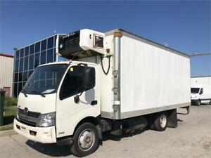 2015 Hino 195 — Refrigerated Truck-18 Ft Box - Cabover