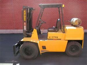 Hyster Forklift outdoor , Lift truck Dully H80XL Sold