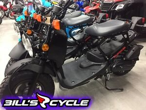 2017 HONDA On Road NPS 50 H   Ruckus Black