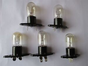 125v & 250V Used microwave light bulbs