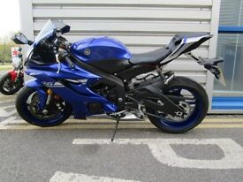 Yamaha YZF R6 - Only 280 Miles!