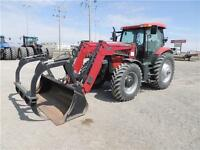 2011 Case IH Maxxum 125 Pro with loader & grapple REDUCED!!!