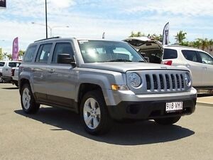 2014 Jeep Patriot MK MY15 Sport 4x2 Billet Silver 5 Speed Manual Wagon Garbutt Townsville City Preview