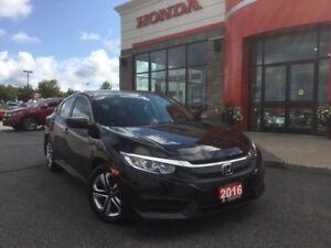 2016 Honda Civic LX - NEW BODY STYLE!