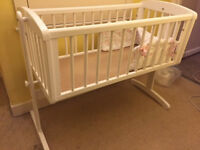 mothercare baby bed for quick sale