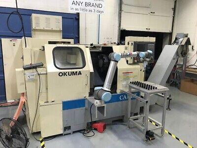 Okuma Cadet Lnc8 Cnc Lathe W Osp700l Control - Clean