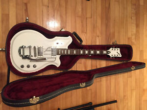 Guitare Eastwood Airline Map bigsby avec case rigide