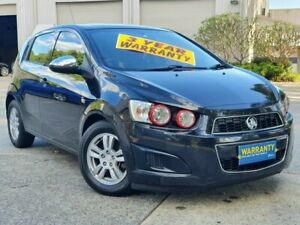 2012 Holden Barina TM MY13 CD Black 5 Speed Manual Hatchback Mayfield East Newcastle Area Preview