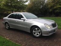 2005 Mercedes E220 2.2d Cdi Automatic Avantgarde model FSH 1 Owner from new
