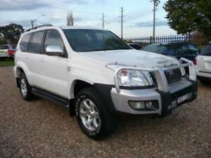 2008 Toyota Landcruiser Prado GXL 4WD D4D Turbo Diesel 6spd Manual 4X4 Orange Orange Area Preview