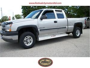 2005 Chev 2500 Ext Cab 4x4 | CERTIFIED