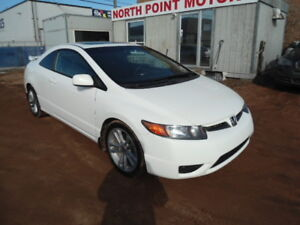 2008 Honda Civic Si Coupe-SUNROOF-REMOTE START-Finance Available
