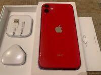 iPhone 11 unlocked Red