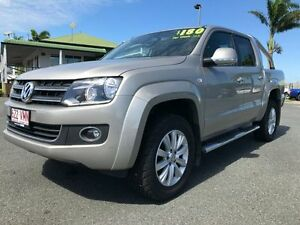 2015 Volkswagen Amarok 2H MY15 TDI420 4Motion Perm Highline Beige 8 Speed Automatic Utility Mackay Mackay City Preview