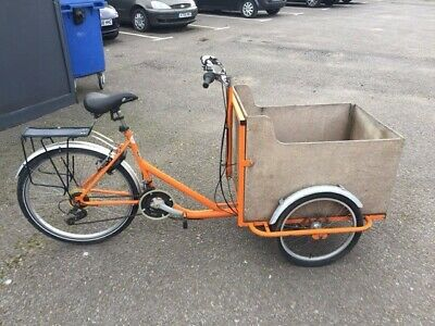 The Cargo Bike Company Tamar Cargo Trike 18 Speed