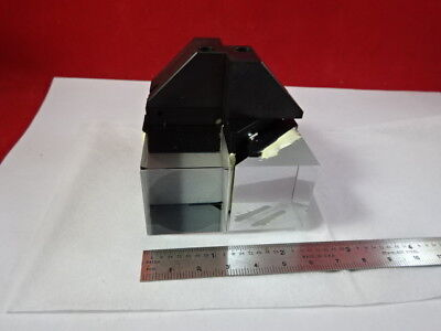 Reichert Leica Polylite Mounted Prism Assembly Microscope Part As Is B8-a-17