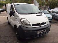 2003 Vauxhall Vivaro 1.9 diesel van, starts and drives well, MOT until January 2017, van located in