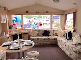 Very spacious static caravan for sale - Ayr, Ayrshire, West Coast, Scotland