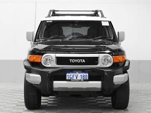 2013 Toyota FJ Cruiser GSJ15R MY14 Black 5 Speed Automatic Wagon Jandakot Cockburn Area Preview