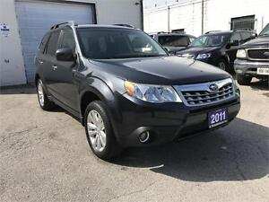 2011 SUBARU FORESTER X TOURING PKG PANORAMIC ROOF...