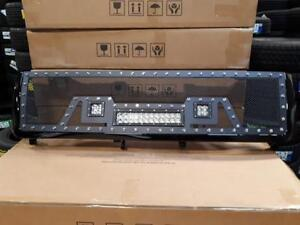 BRAND NEW 2011, 2012, 2013 & 2014 CHEVY BLACK MESH LED GRILL WITH FULL SHELL! - NO CUTTING REQ! - FINANCING AVAILABLE