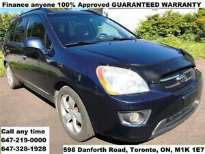 2007 Kia Rondo EX Luxury 7-SEAT LEATHER FINANCE 100% APPROVED
