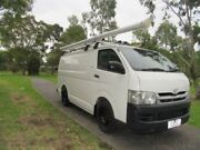 2009 Toyota Hiace KDH201R MY08 LWB White 4 Speed Automatic Van Dandenong Greater Dandenong Preview