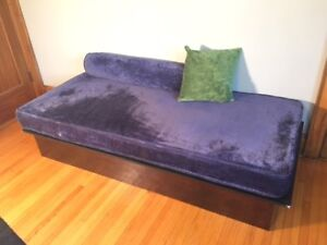 Custom-Built Twin Day Bed with Mattress