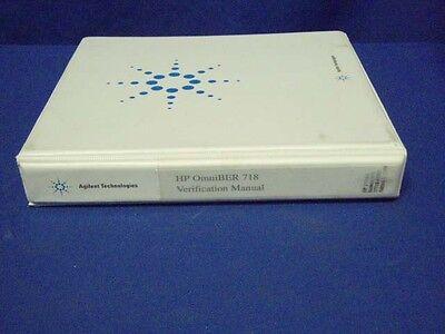 Hp Omniber 718 Verification Manual