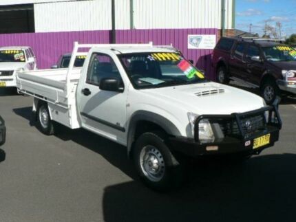 2007 Holden Rodeo RA MY06 Upgrade DX (4x4) White 5 Speed Manual Cab Chassis