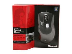 ***Microsoft Comfort Mouse 6000 USB Wired BlueTrack Mouse***