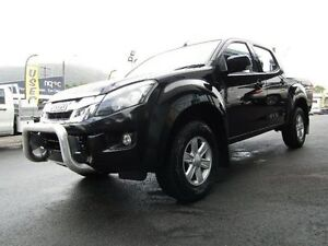2013 Isuzu D-MAX MY12 LS-M Crew Cab Black 5 Speed Sports Automatic Utility Earlville Cairns City Preview