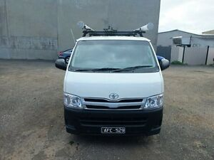 2012 Toyota Hiace KDH201R MY12 Upgrade LWB White 5 Speed Manual Van Werribee Wyndham Area Preview