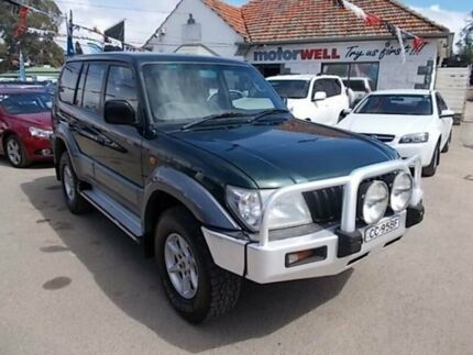 2000 Toyota Landcruiser Prado KZJ95R GXL Green 4 Speed Automatic Wagon Gepps Cross Port Adelaide Area Preview
