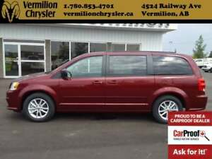 2017 Dodge Grand Caravan SXT Plus, DVD, Back-Up Cam, Bluetooth