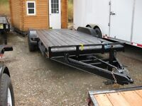 18' Rainbow Tilt Equipment Trailer
