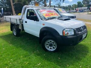 2012 Nissan Navara D22 S5 DX White 5 Speed Manual Cab Chassis Ferntree Gully Knox Area Preview