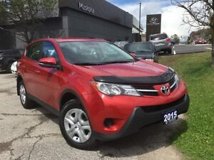 2015 Toyota Rav4 LE - ONE OWNER - LOW KMS!